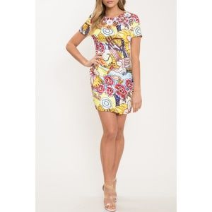 L'ATISTE Dresses - Mod Floral Dress